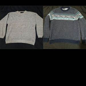 2 VTG Bundle of two knitted sweaters 🔥